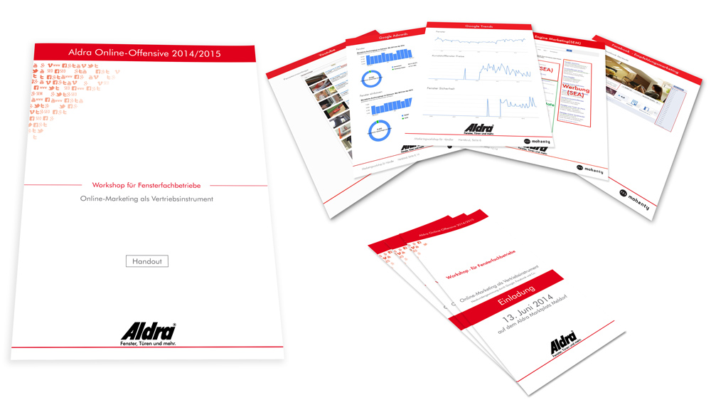 Material für Workshops
